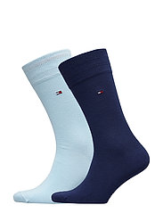 SOCKS 2-PAIRS - LIGHT BLUE