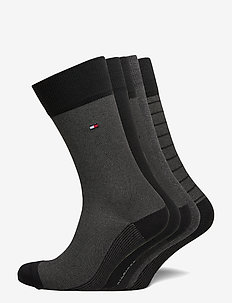 TH MEN SOCK 5P BIRDEYE TIN GIFTBOX - vanlige sokker - black