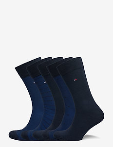 TH MEN SOCK 5P BIRDEYE TIN GIFTBOX - reguläre strümpfe - dark navy