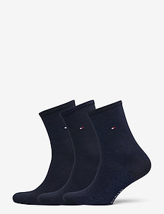 TH WOMEN SOCK 3P GIFTBOX LUREX - sokker - navy / blue