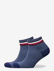 TH KIDS ICONIC SPORTS QUARTER 2P - strumpor - jeans