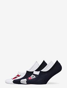 TH MEN FOOTIE 4P GIFTBOX - ankelstrumpor - white/navy