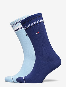 TH MEN SOCK 2P NEW PETE - tavalliset sukat - light blue