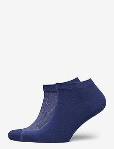 TH MEN SNEAKER 2P MICRO STRIPE - ankelstrømper - bright blue