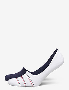 TH WOMEN FOOTIE 2P PREPPY - footies - white
