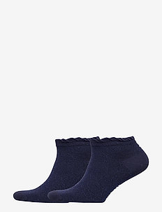 TH WOMEN SNEAKER 2P LUREX - tennarisukat - midnight blue