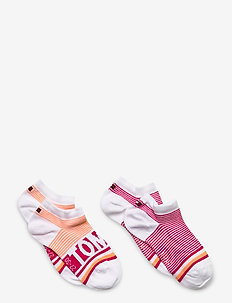 TH KIDS SNEAKER 2P FINE STRIPE - sokker - pink lady