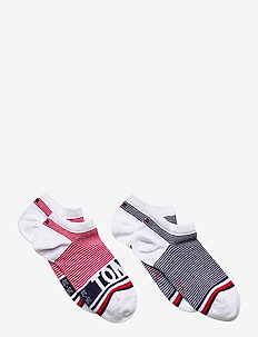 TH KIDS SNEAKER 2P FINE STRIPE - sokker - tommy original