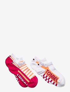 TH KIDS SNEAKER 2P BOLD STRIPE - sokker - pink lady