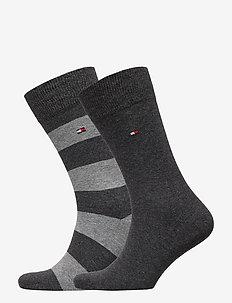 TH MEN RUGBY SOCK 2P - vanlige sokker - anthracite