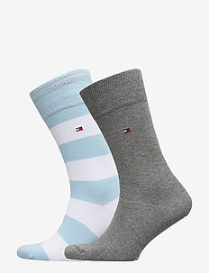 TH MEN RUGBY SOCK 2P - light blue