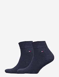 TH MEN QUARTER 2P - ankelstrømper - jeans