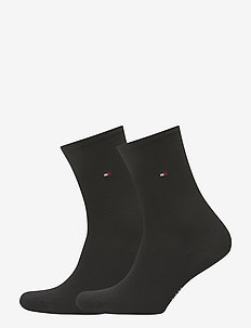 TH WOMEN SOCK CASUAL 2P - sokker - black