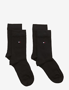 TH CHILDREN SOCK TH BASIC 2P - BLACK