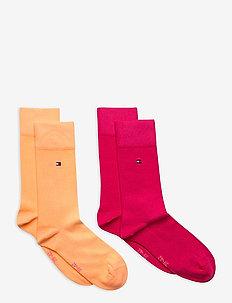 TH CHILDREN SOCK TH BASIC 2P - sokker - pink lady