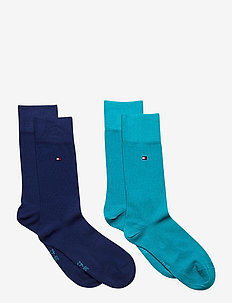TH CHILDREN SOCK TH BASIC 2P - sokker - real teal