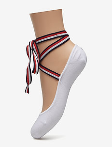 TH WOMEN FOOTIE WRAP 1P - WHITE