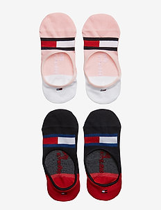 TH KIDS HILFIGER FOOTIE 2P - PINK COMBO