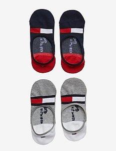 TH KIDS HILFIGER FOOTIE 2P - sokker - tommy original