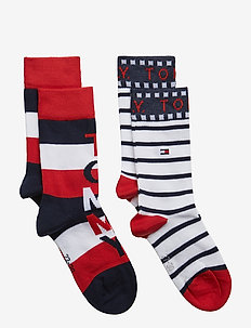 TH KIDS BLOCK SOCK 2P - TOMMY ORIGINAL