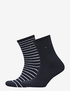 TH WOMEN SMALL STRIPE 2P - sockor - jeans