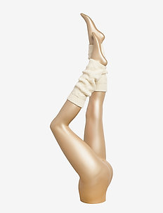TH WOMEN LEG WARMERS 1P - OFF WHITE