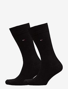SOCKS 2-PAIRS - vanlige sokker - black