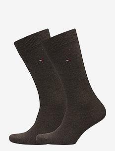 SOCKS 2-PAIRS - vanlige sokker - oak