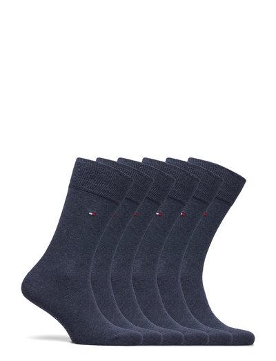 TH MEN SOCK 6P ECOM - regular socks - jeans