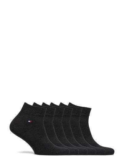 TH MEN QUARTER 6P ECOM - ankle socks - black