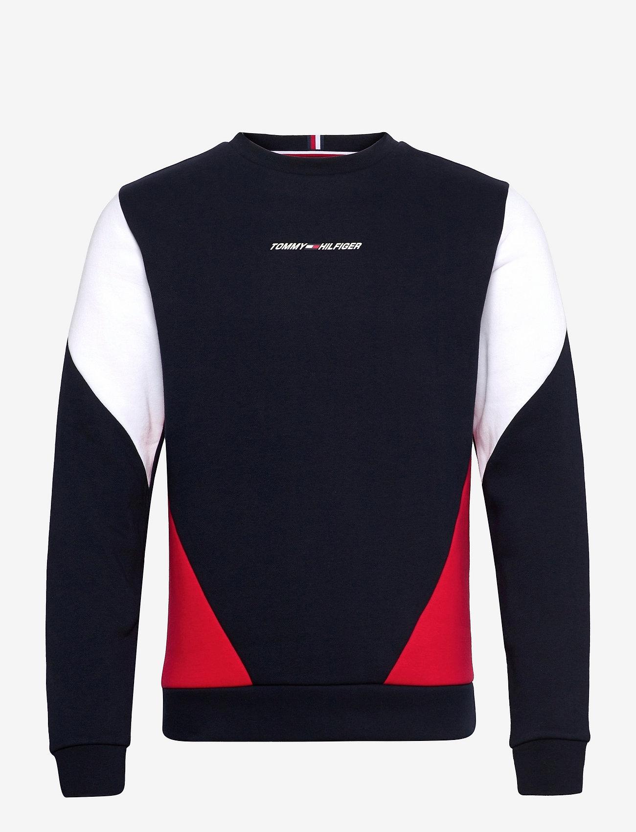 Tommy Sport - BLOCKED SEASONAL CREW - clothing - desert sky - 1