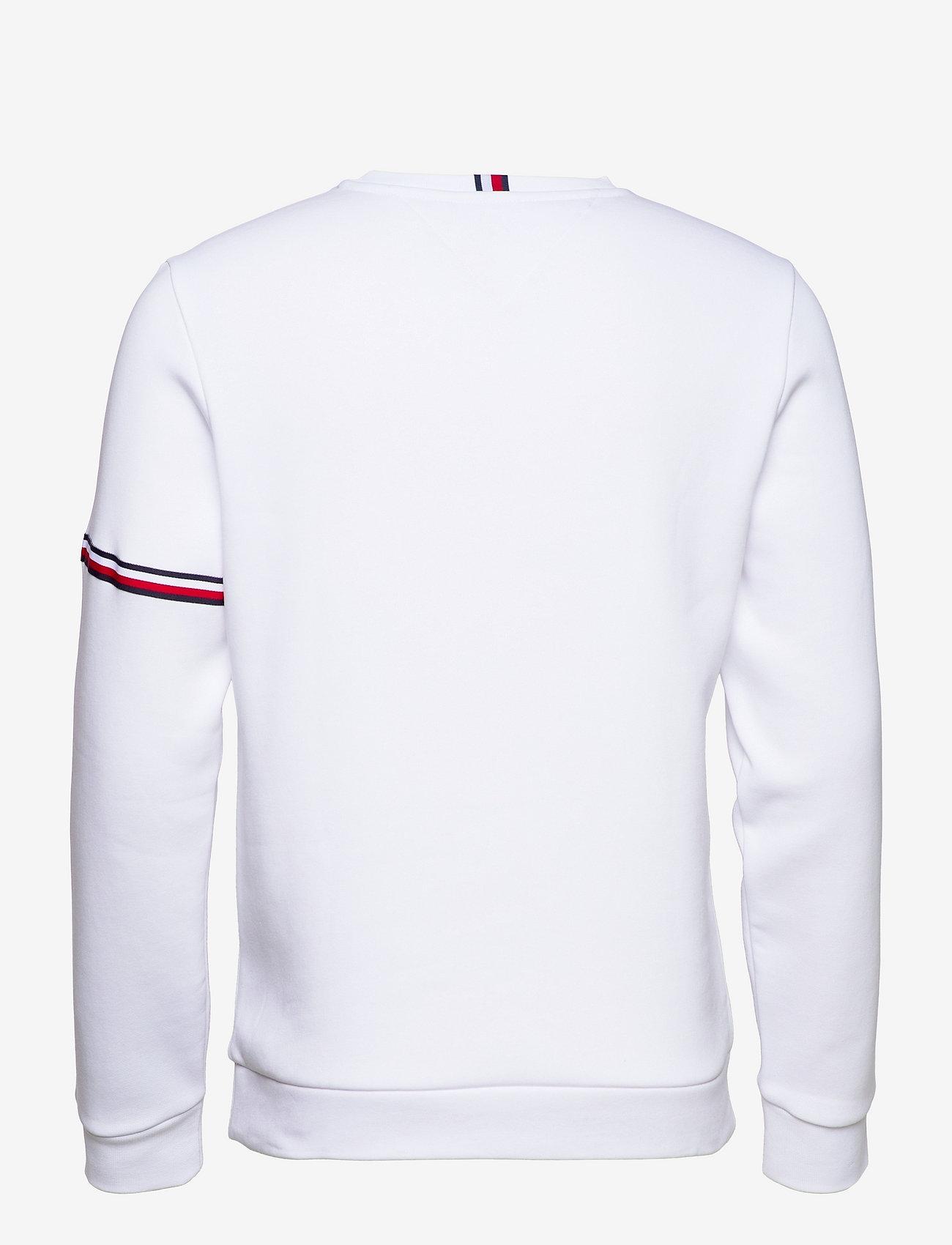 Tommy Sport - TAPE SEASONAL CREW - clothing - white - 1