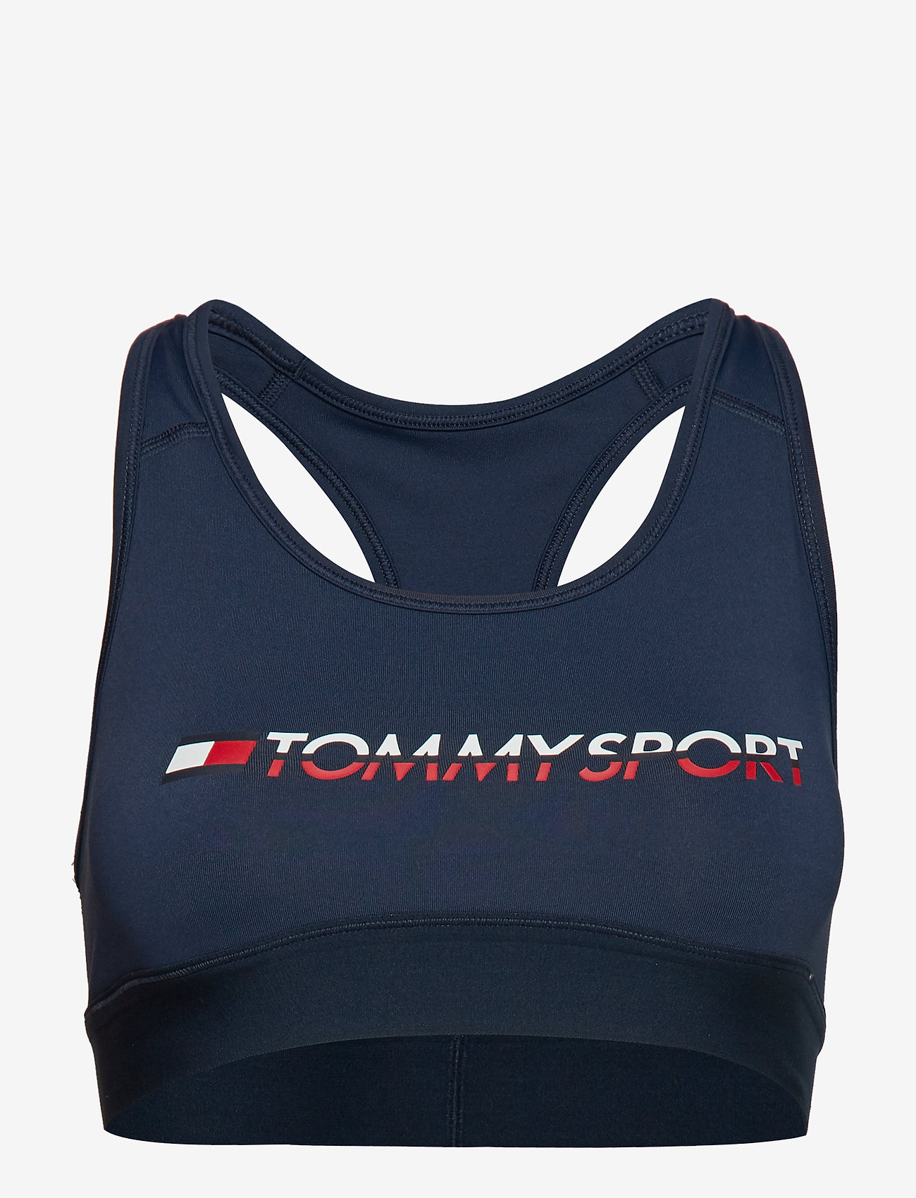 Tommy Sport - SPORTS BRA MEDIUM TR - sport bras: medium - sport navy - 0