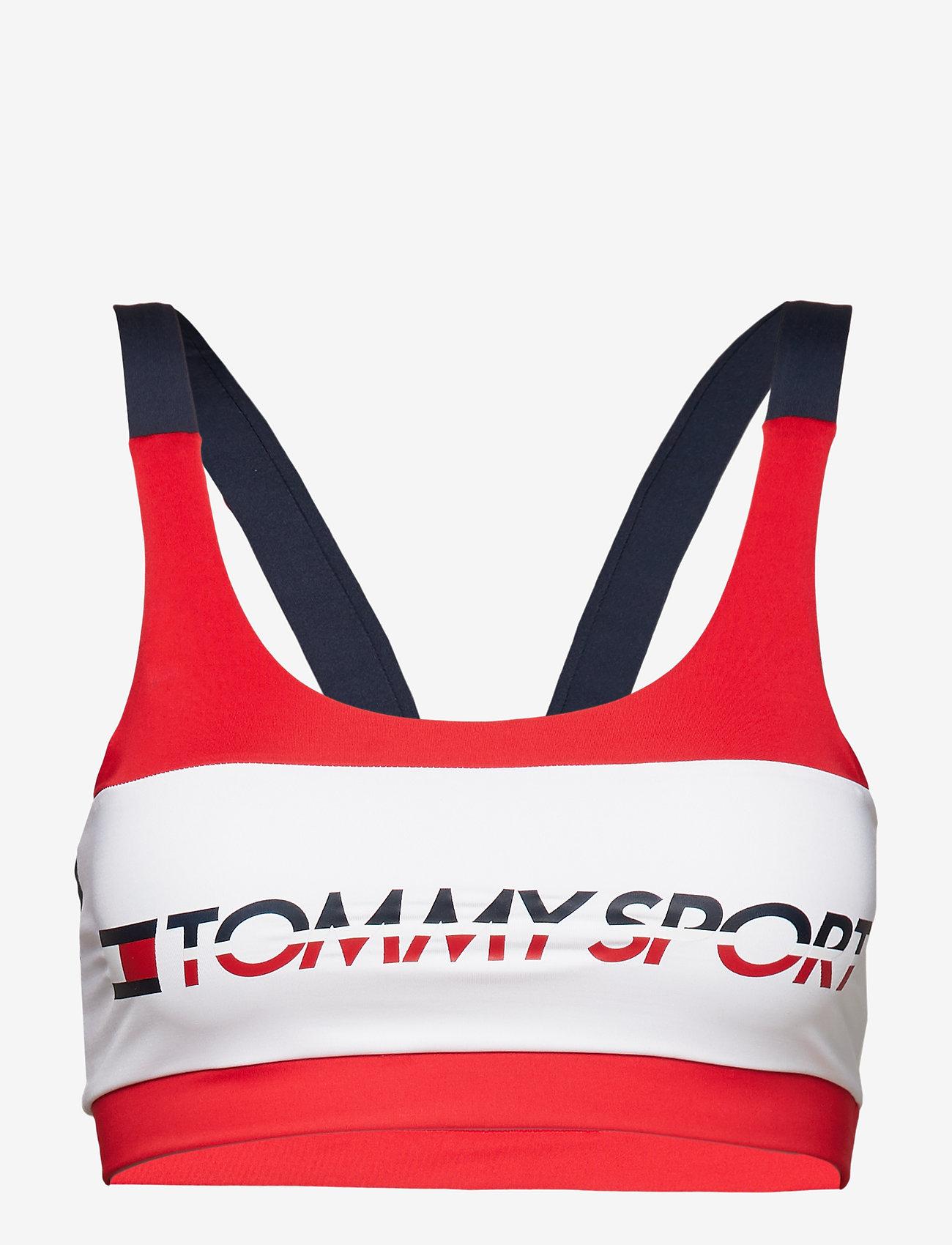 Tommy Sport - Sports Bra Low Impact - sport bras: low - true red