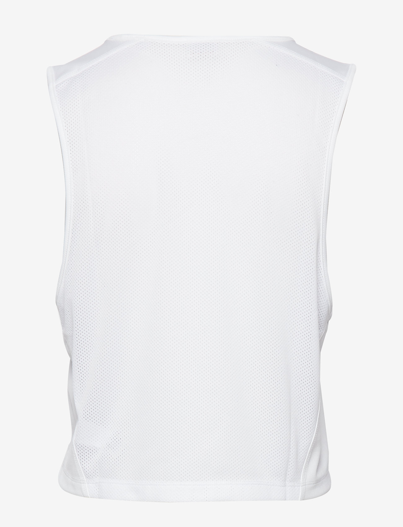 Tommy Sport - CROPPED TANK TOP LOG - crop tops - pvh white - 1