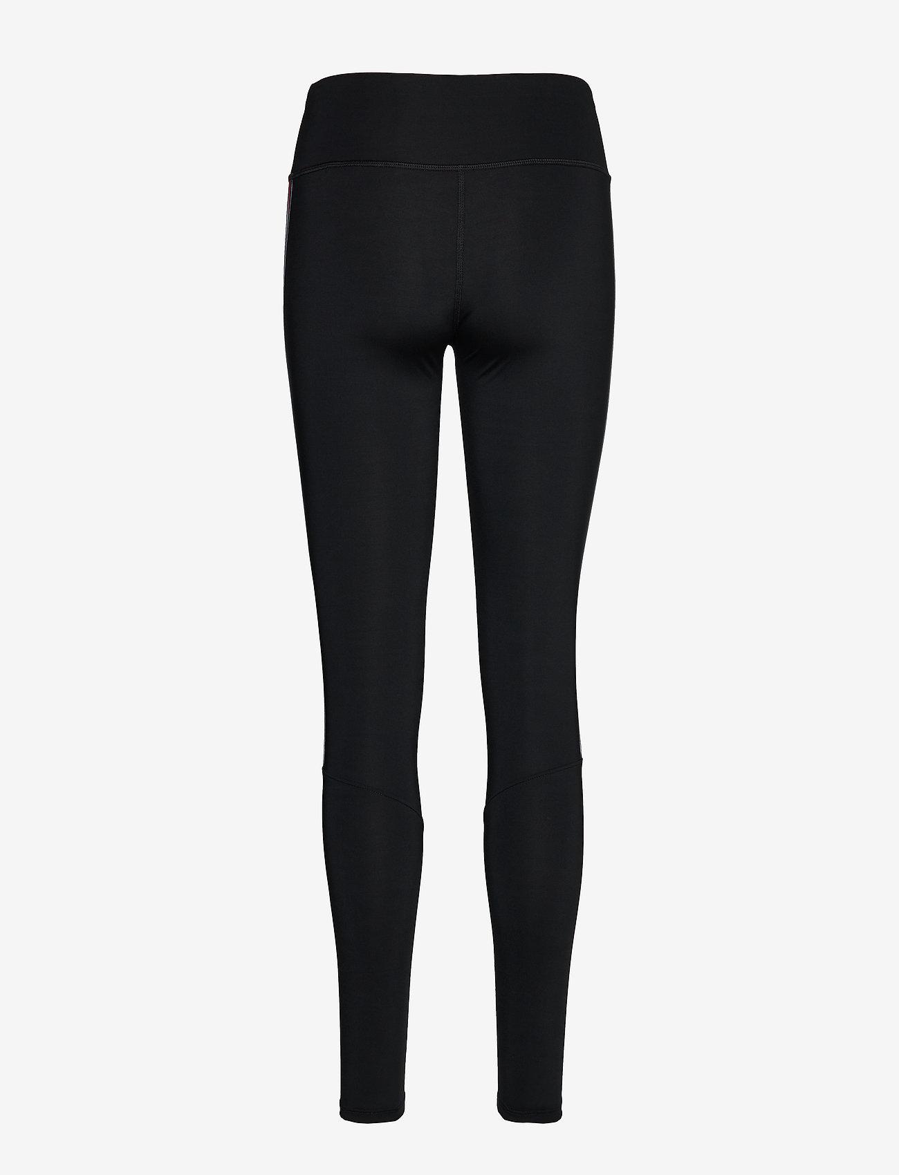 Tommy Sport Legging Full Length With Tape - Leggings & Tights Pvh Black