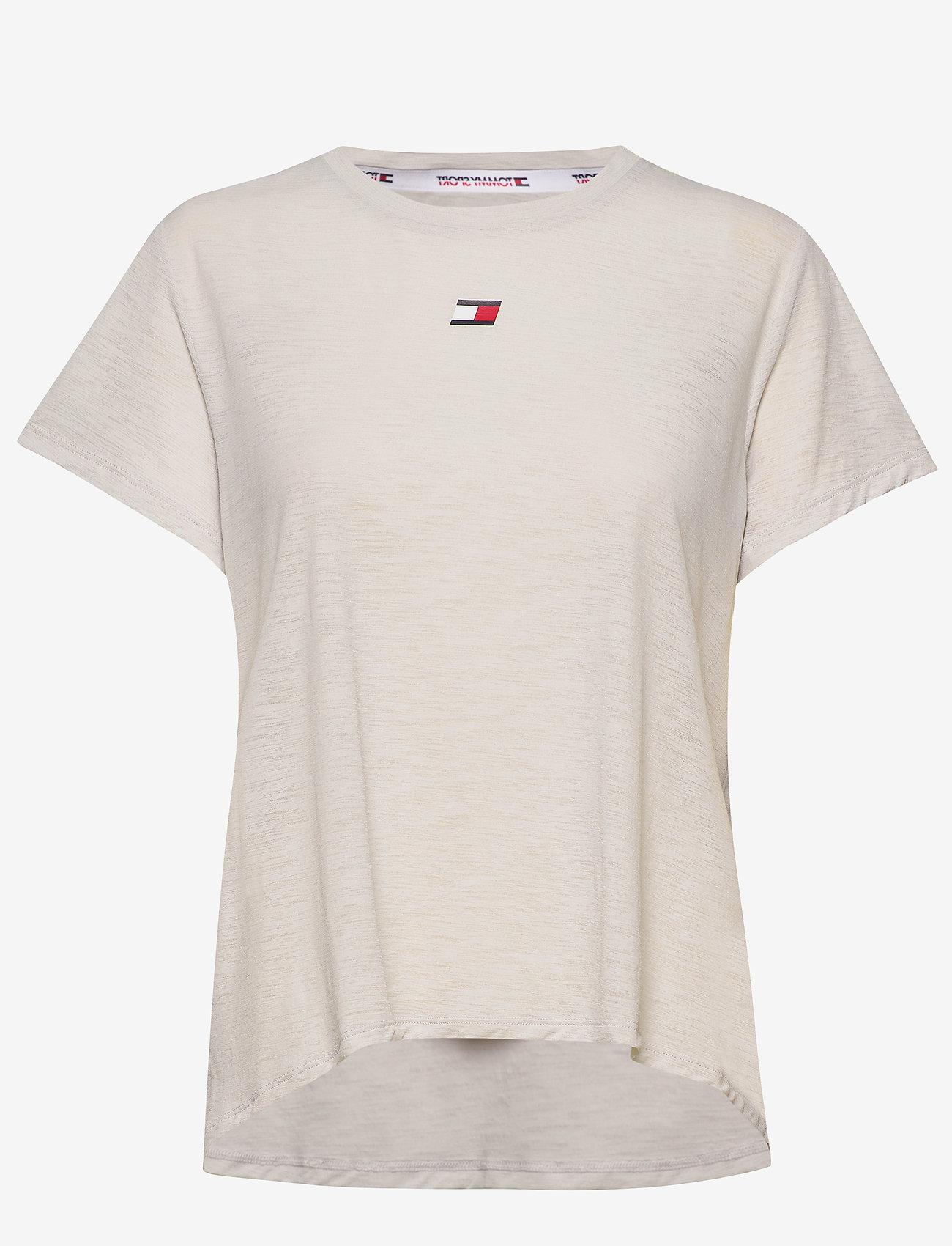 Tommy Sport - PERFORMANCE LBR TOP - t-shirts - light cast - 0