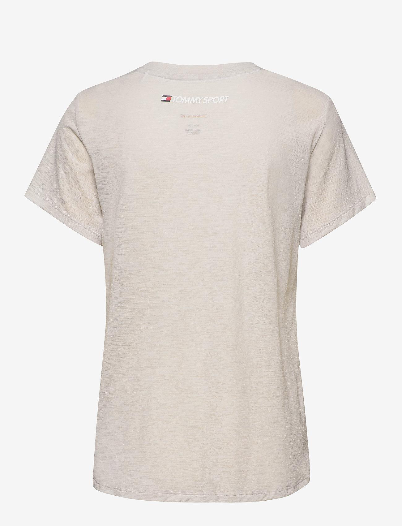 Tommy Sport - PERFORMANCE LBR TOP - t-shirts - light cast - 1