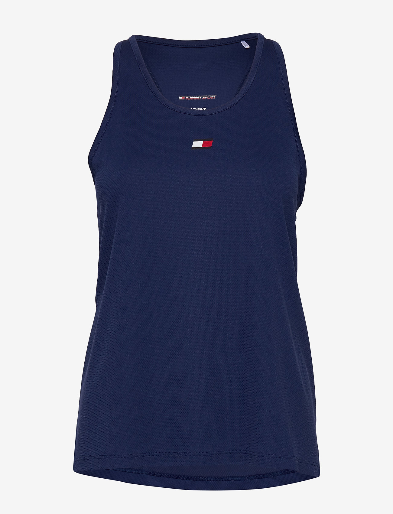 Tommy Sport - PERFORMANCE TANK TOP - tank tops - blue ink - 0