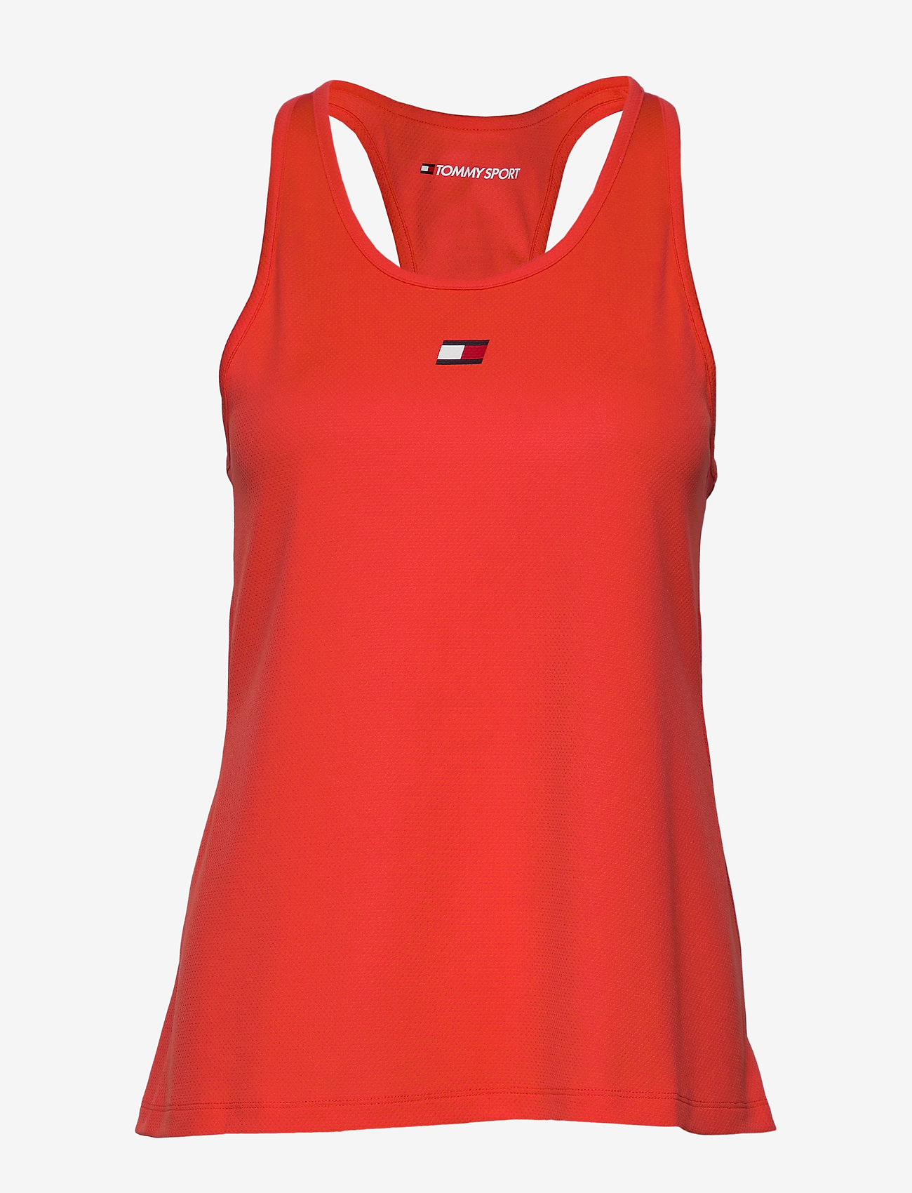 Tommy Sport - PERFORMANCE TANK TOP - tank tops - bright vermillion - 0
