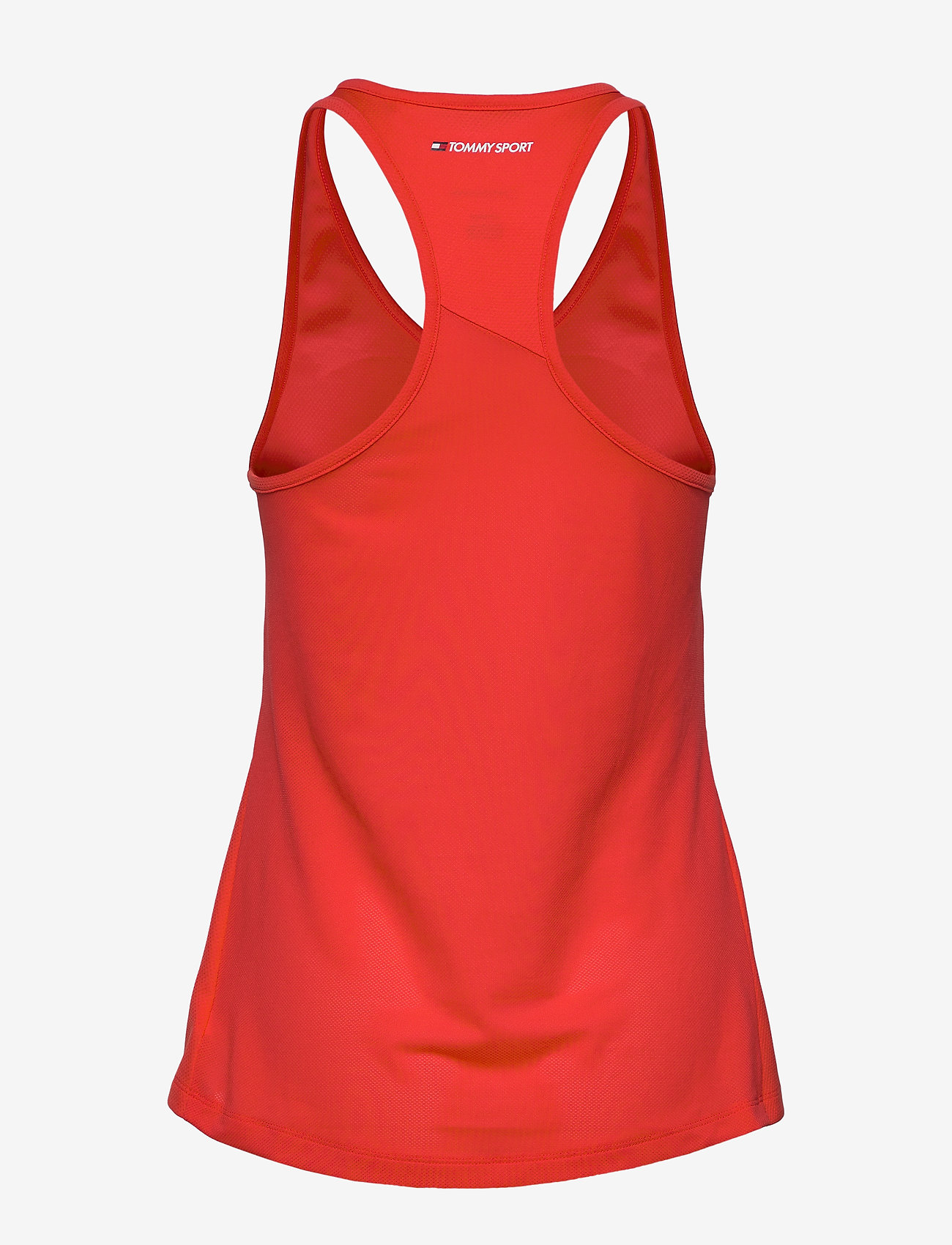 Tommy Sport - PERFORMANCE TANK TOP - tank tops - bright vermillion - 1