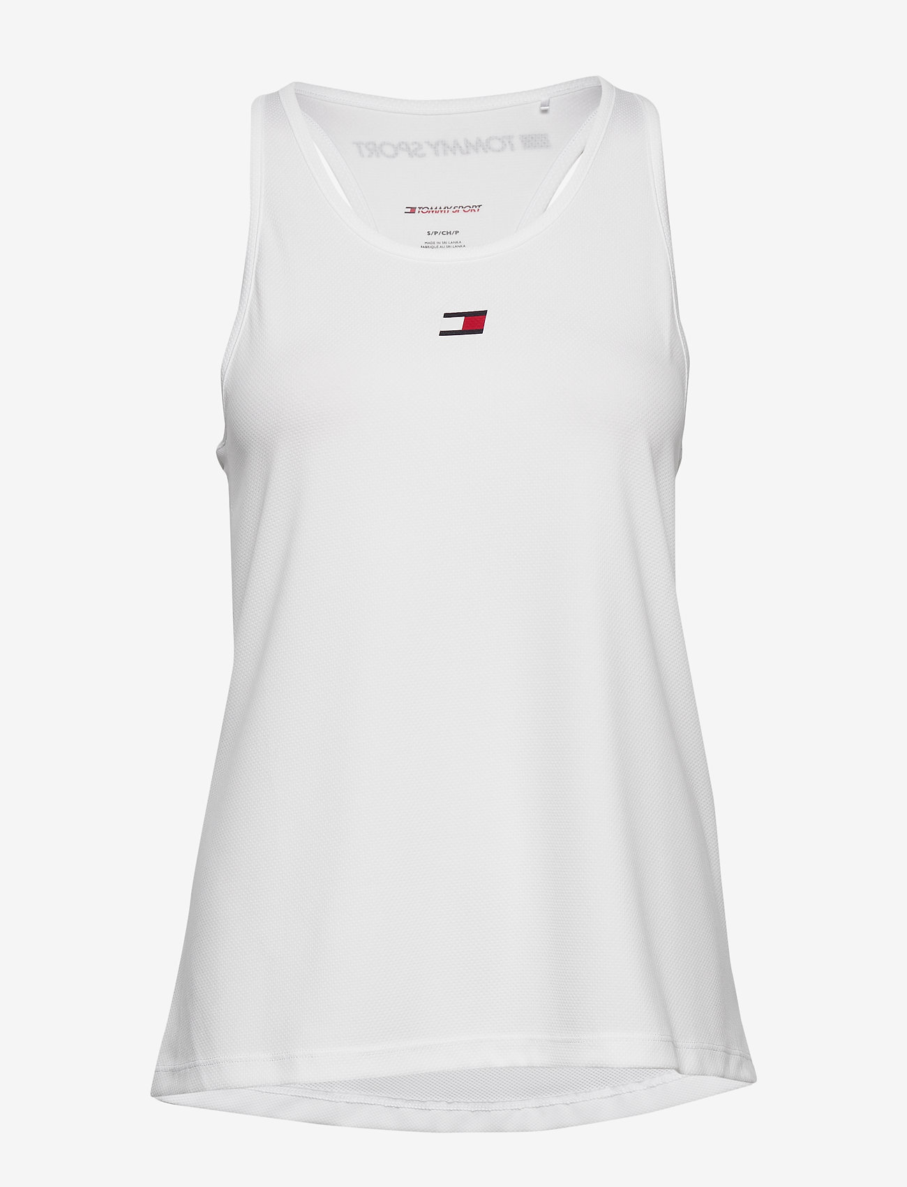 Tommy Sport - PERFORMANCE TANK TOP - tank tops - white - 0