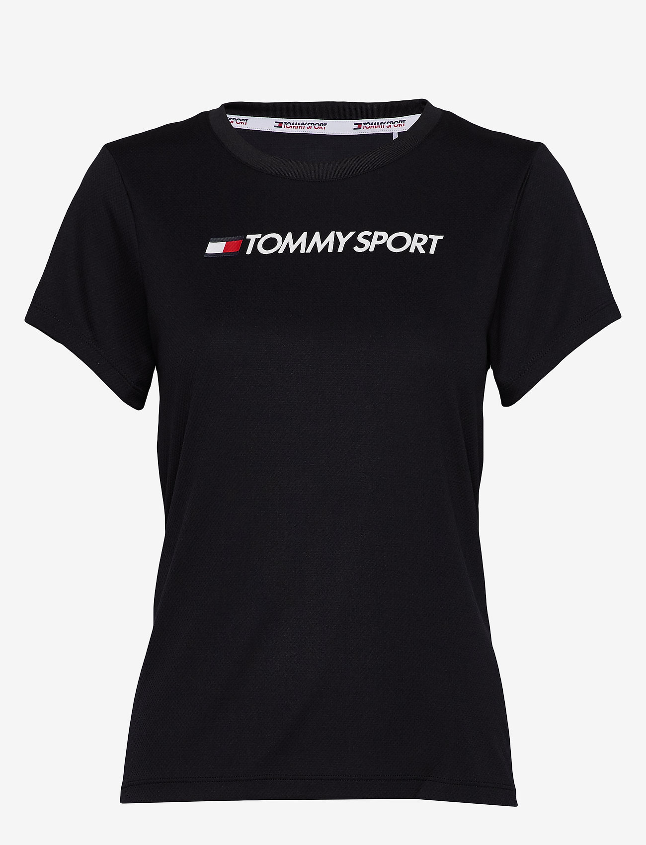 Tommy Sport - PERFORMANCE CHEST LOGO TOP - logo t-shirts - desert sky - 0