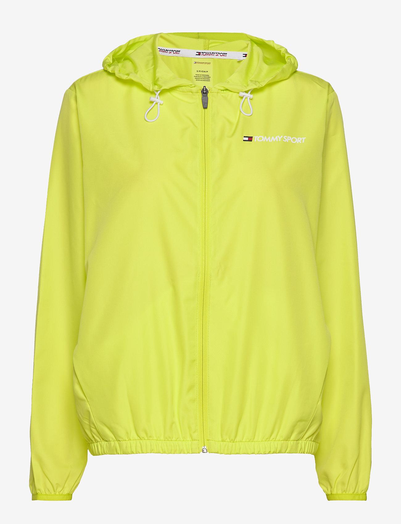 Tommy Sport - WINDBREAKER BACK LOG - sports jackets - lemon lime - 0
