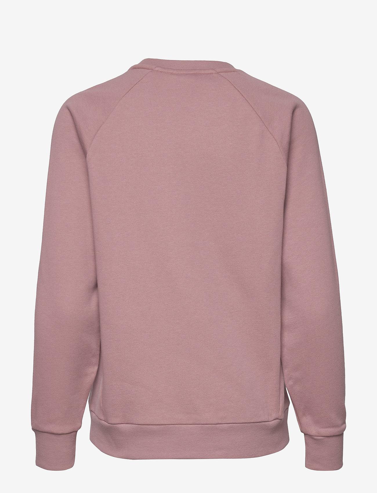 Tommy Sport - CREW SWEATER LOGO - sweatshirts - red dust - 1