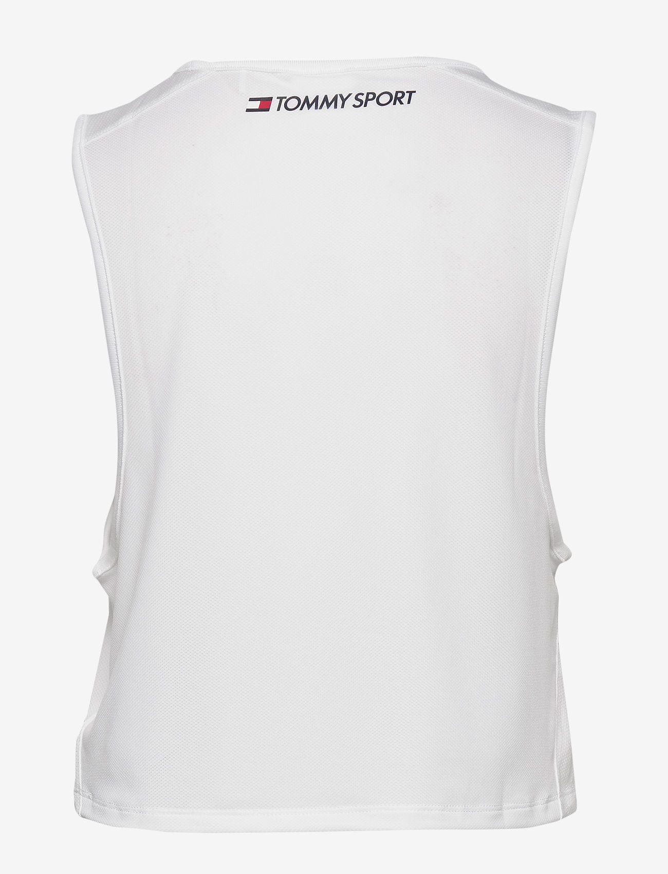 Tommy Sport - PERFORMANCE TANK TOP LBR - tank tops - white - 1