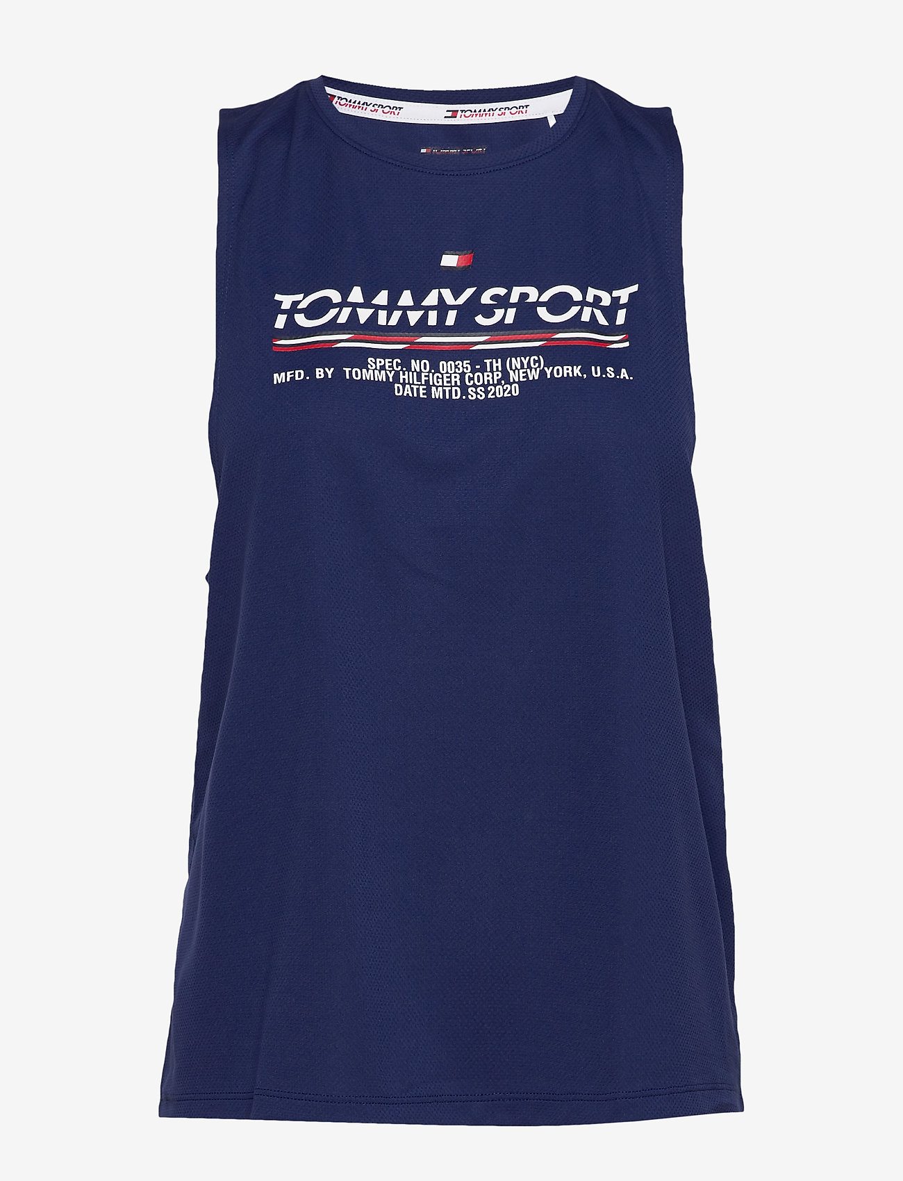 Tommy Sport - PRINTED TANK TOP - tank tops - blue ink - 0