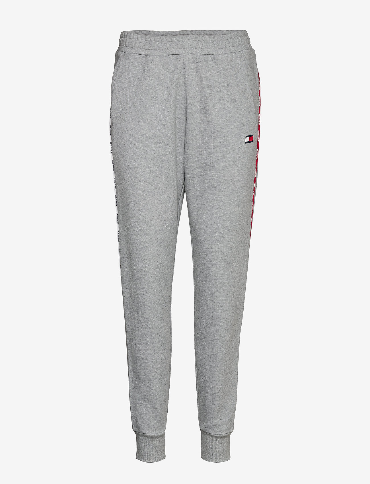Tommy Sport - CUFFED PANT PIPING - bukser - grey heather - 0