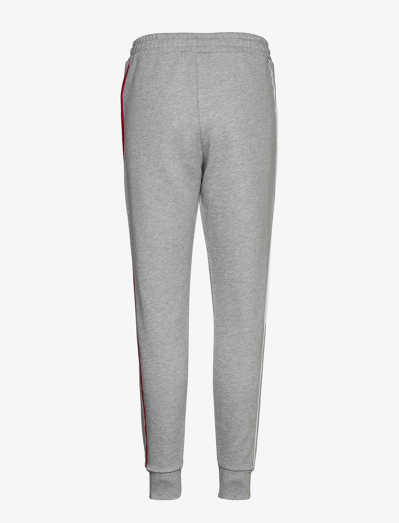 Tommy Sport - CUFFED PANT PIPING - bukser - grey heather - 1