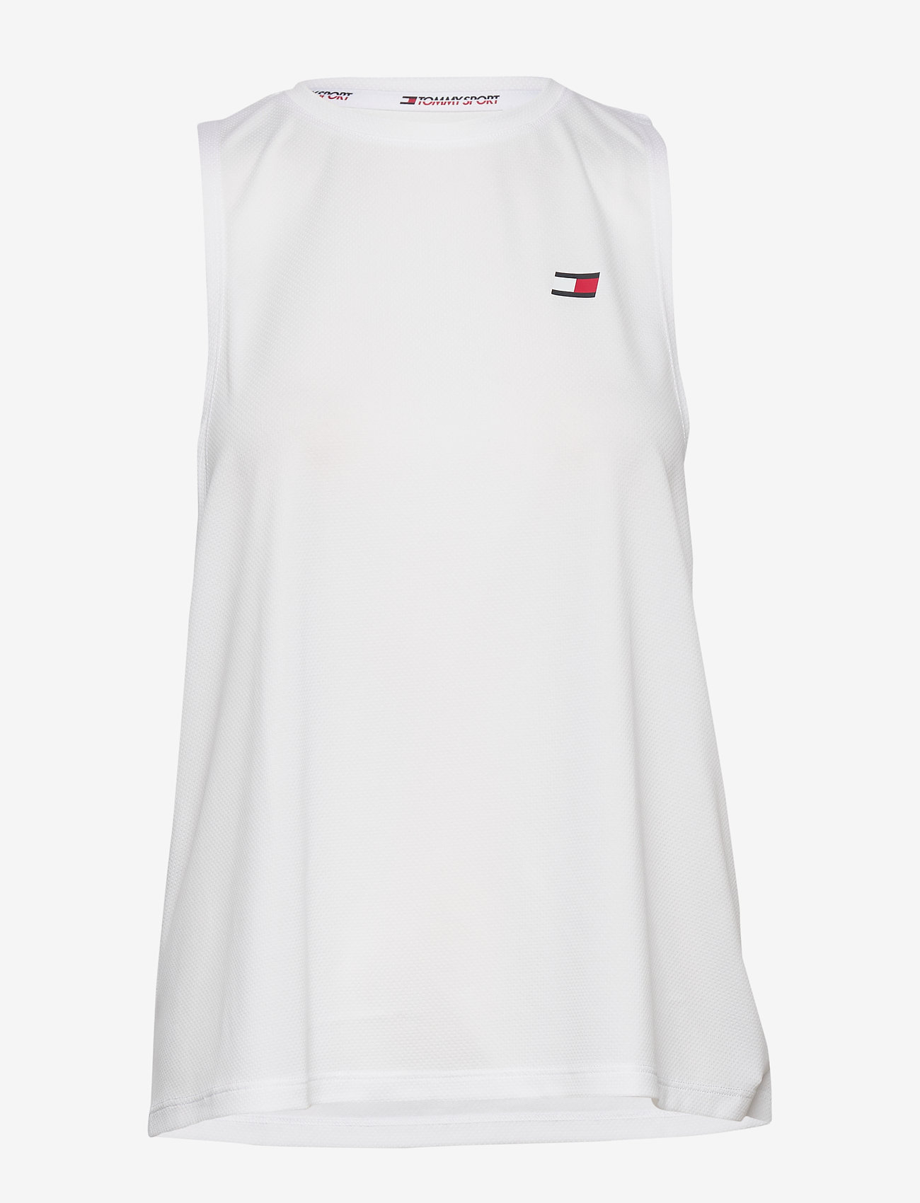 Tommy Sport - PERFORMANCE PRINTED TANK TOP - tank tops - white - 0